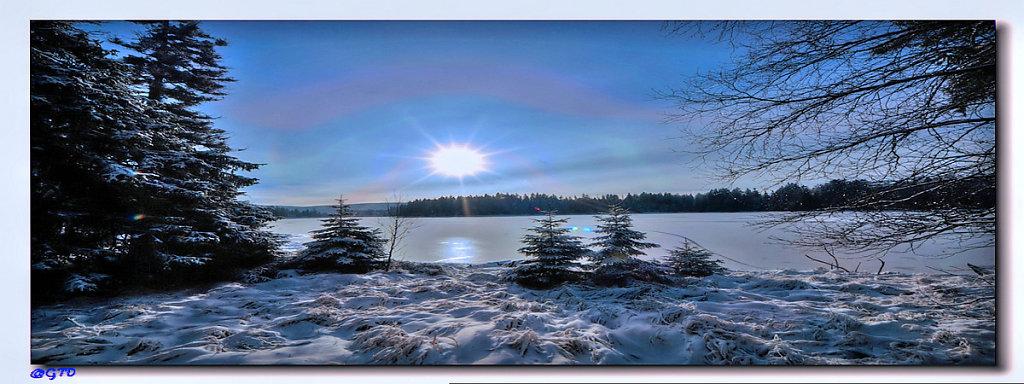 Oderteich im Winter